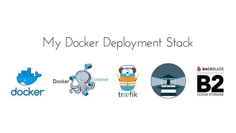 Docker Deployment Ease, My Setup